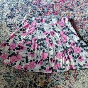 A-Line Floral H&M Skirt